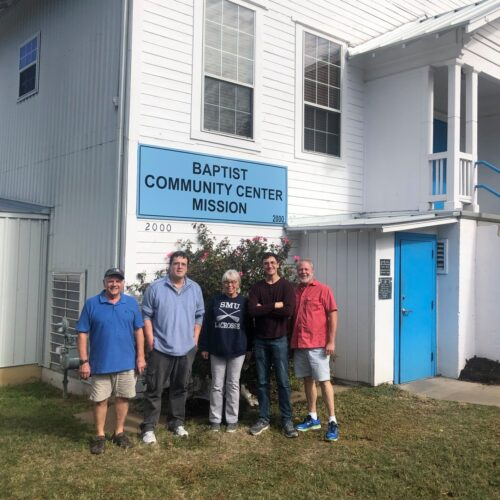 Group takes donations to Baptist Community Center