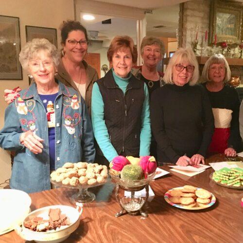 Sisters in Service exchange cookies