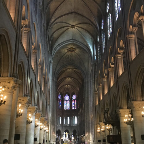 Picture of Notre Dame Cathedral taken by Alana Mallard