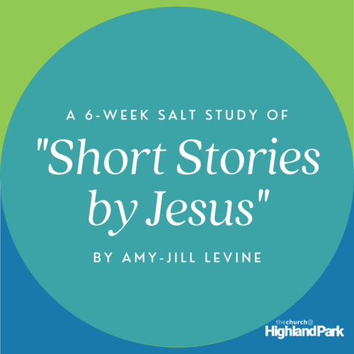 A picture that says A 6 week study of Short Stories by Jesus by Amy-Jill Levine